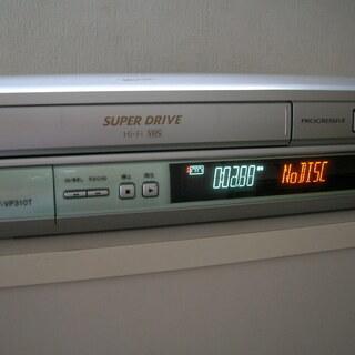 VHSビデオテープデッキ(現状品)