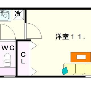 【パナハイムなんば】5号タイプ!1Kタイプ!オシャレなお店が増えて...
