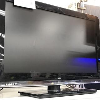 液晶テレビ SHARP LC-19K3 2010年製 19インチ マルチリモコン付の画像