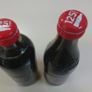 最終値下げコカコーラ125周年記念ボトル 未開封2本セット  残...