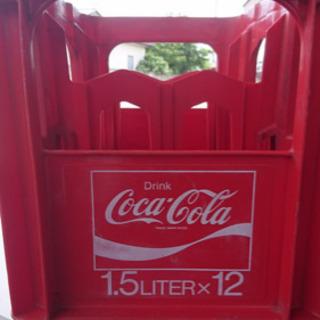 最終値下げ コカコーラ1.5L瓶ケース 珍!