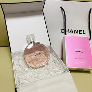 a361c4261bc3 ... シャネル\ チャンス CHANEL チャンス 香水100ml 未使用 箱、リボン、紙バック付き