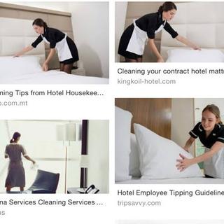 ホテル清掃スタッフ支援