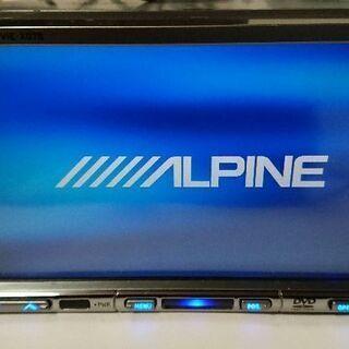 アルパインHDDカーナビvie-x07s地デジフルセグ