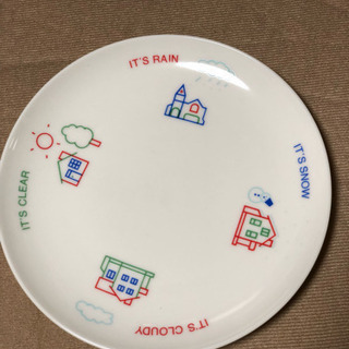 AT  HOME  の皿  3枚セット