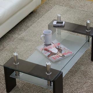 ガラスのテーブル  ' tempered glass '  (差...