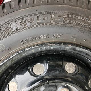 値下げしました!タイヤ4本セット アクティバン バモス