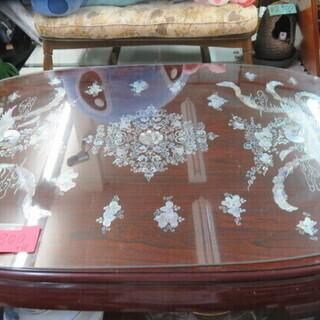 螺鈿(ラデン)細工 座卓テーブル
