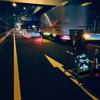 福岡都市高速道路の交通誘導警備