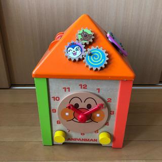 期間限定★処分価格★木製 知育玩具 アンパンマン よくばりボックス