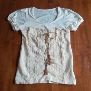 【未使用】白い服 半袖