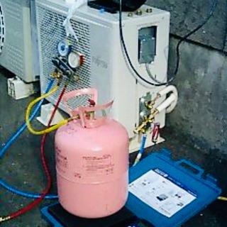 エアコンガス漏れ修理 ガスチャージ