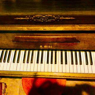 ★☆希少 戦後アンティーク ミニピアノ 三木楽器