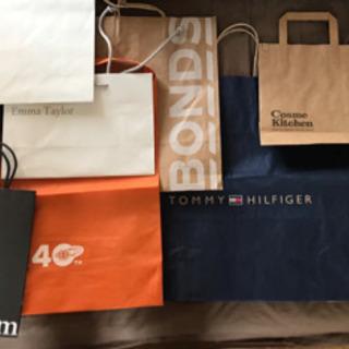 ショップ袋11枚セット まとめ売り 国内外ブランド