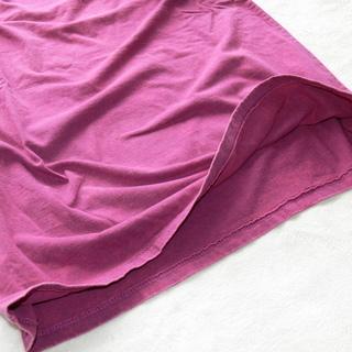 4004 スタンダード ストーンウォッシュ加工 UネックTシャツ Mサイズ − 北海道