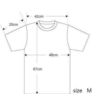 4004 スタンダード ストーンウォッシュ加工 UネックTシャツ Mサイズ - 売ります・あげます