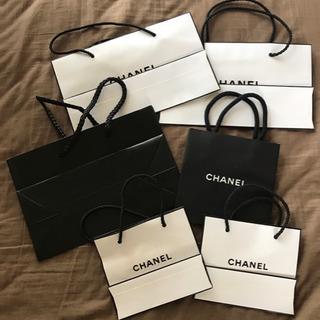 正規品 CHANEL 紙袋 4種類 ミニバッグ 6枚セット シャネル