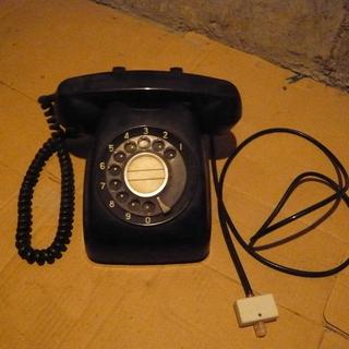黒電話 昭和 レトロ  日本電信電話公社