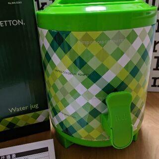 ベネトン ウォータージャグ3L  保温&保冷対応 美品!