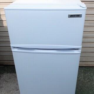 ☆ベステック BESTEK BTMF211 85L 2ドア冷凍冷...
