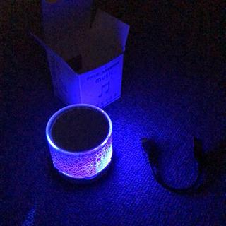 Bluetoothスピーカー 七色に発光