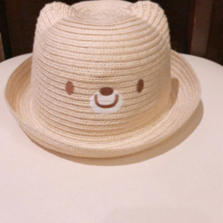 初めての麦わら帽子に♡