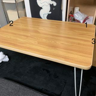 折りたたみローテーブル 70×50