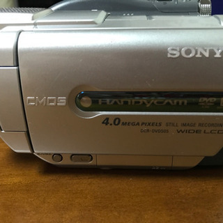 SONY/8cmDVD/ハンディーカム/DCR-DVD505