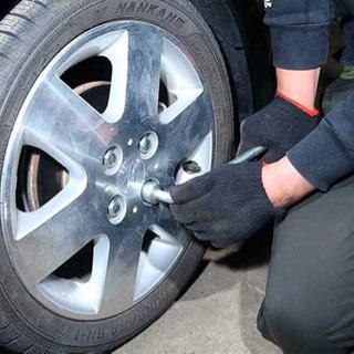 出張タイヤ交換 タイヤ履替、車検代行