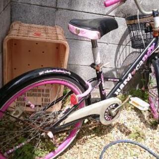 ハートが可愛い20インチ女の子の自転車