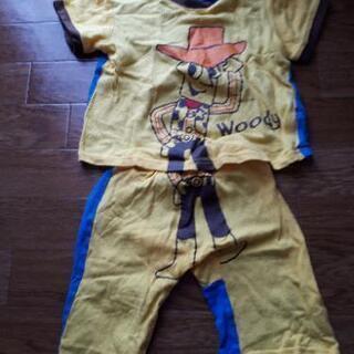 トイストーリー woodyのパジャマ100