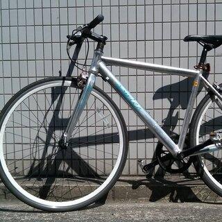 クロスバイク+2新いチューブ、フレーム48 cm、(175−19...