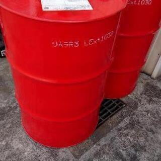 赤ドラム缶 200L  焼却炉  バーベキューなど