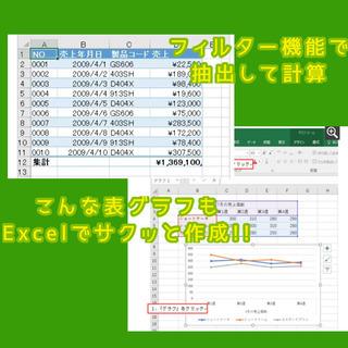 Excel初心者から事務levelまで!