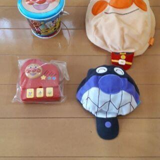 未使用あり!美品☆アンパンマンおもちゃセット!値下げ¥200!