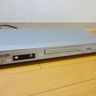 Panasonic DVDプレーヤーDVD-S37 CDプレーヤ...