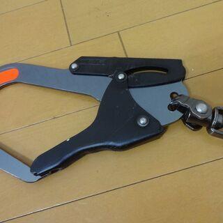 KH 玄人魂 1本つり専用 フック ブラック カラビナ 安全帯