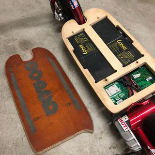 電動キックボードの充電配線修理