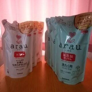 アラウ(arau) 洗濯用せっけん 詰替 1L×3 衣類のなめら...