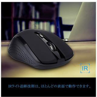 無線マウス ワイヤレスマウス 2.4GHz