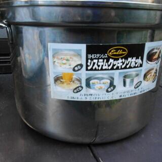 クッキングポッド、煮る、ゆでる、蒸す、水切り、まぜる、湯せん、何...