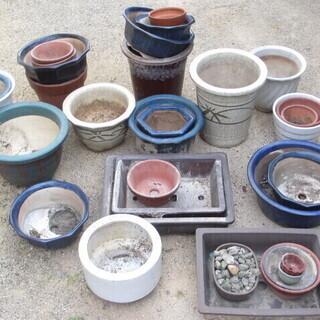 ☆陶器製 植木鉢 まとめて☆