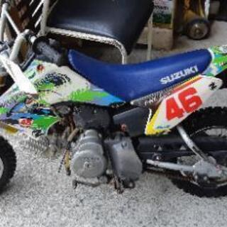 スズキ DR-Z50 モトクロス オフ車 オフロード キッズバイク