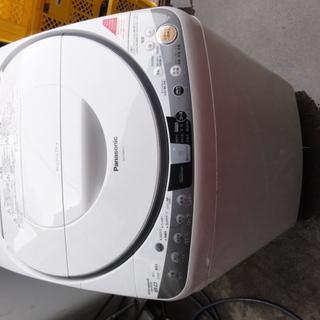 西977 パナソニック 全自動洗濯機 乾燥機能付き 8KG NA...