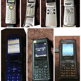 ジャンク携帯 7台 まとめ売り