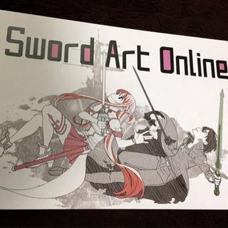 ソードアート・オンライン ポストカード