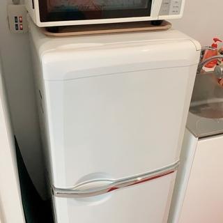 2ドア冷蔵庫 900円