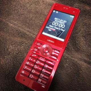 WILLCOM LIBERIO WX03K (Red)