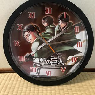 【新品未使用】進撃の巨人 壁掛け時計
