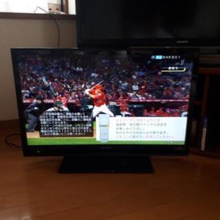 決まりました。AQUOS32型LED省エネテレビです。